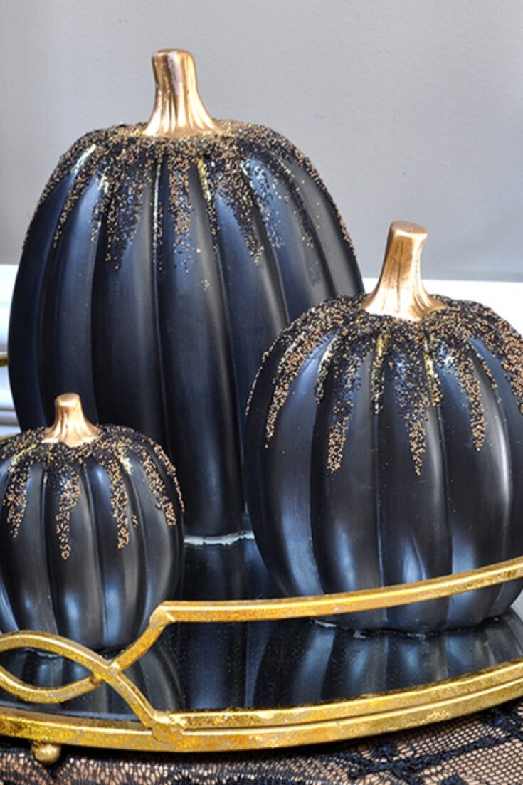 3 Colorful DIY Boho Chic Painted Pumpkins 8