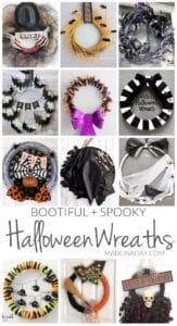 Bootiful Spooky DIY Halloween Wreaths 1