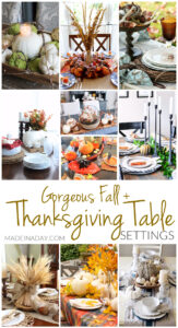 Gorgeous Fall Thanksgiving Table Setting Ideas 1