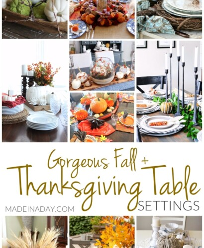 Gorgeous Fall Thanksgiving Table Setting Ideas 7