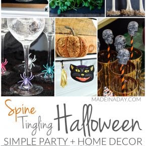 Simple Spine Tingling Halloween Party Decor 1