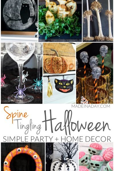 Simple Spine Tingling Halloween Party Decor