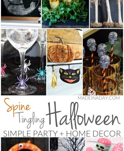 Simple Spine Tingling Halloween Party Decor 31
