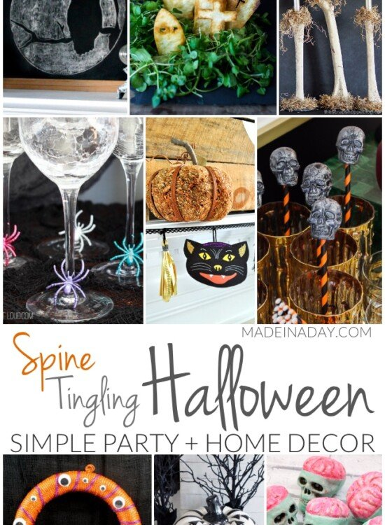 Simple Spine Tingling Halloween Party Decor 5