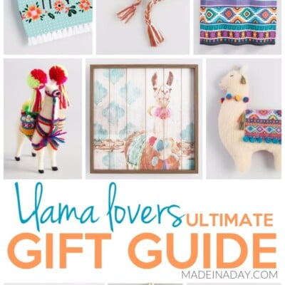 Llama Lovers Ultimate Gift Guide