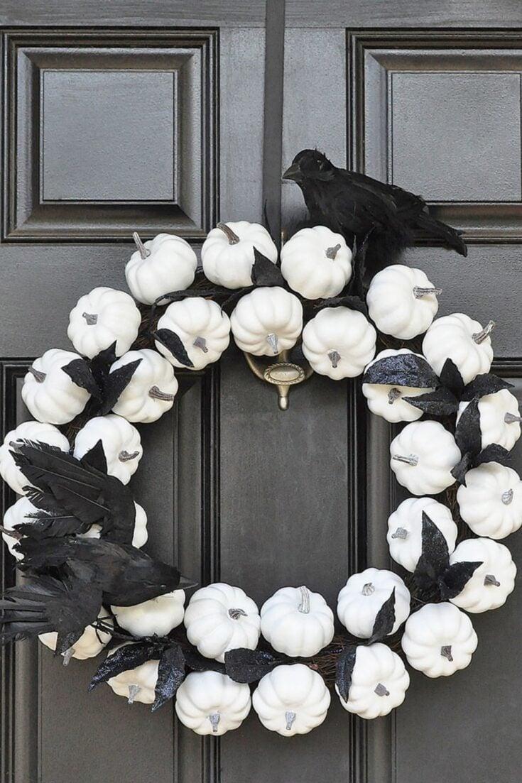 Stunning Cozy Fall Plaid Scarf Wreath 4
