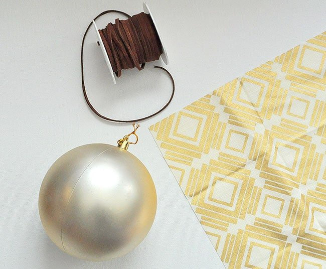 make a tribal ornament