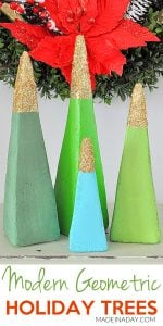Sparkling Modern Holiday Tree Decorations 1