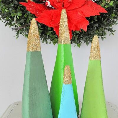 Sparkling Modern Holiday Tree Decorations
