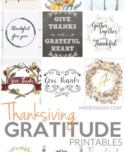 Perfect Thanksgiving Gratitude Printables 6
