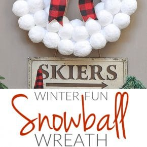 Winter Fun Snowball Wreath 29