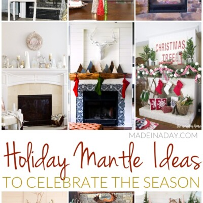 Holiday Mantle Ideas to Celebrate the Season