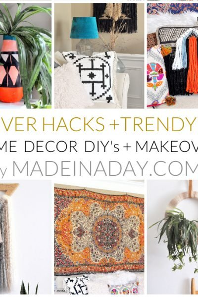 Home Decor DIY's + Makeover Highlights