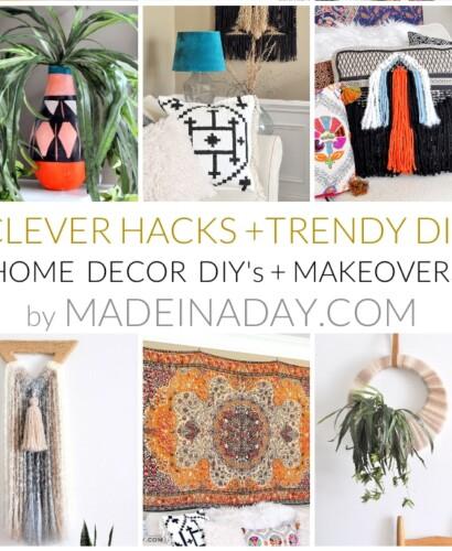 Home Decor DIY's + Makeover Highlights 4