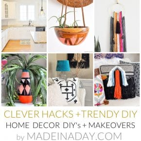 Home Decor DIY's + Makeover Highlights 29