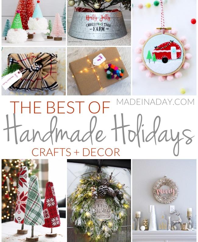 Creative Home Decor Youtube: The Best Christmas Holiday Handmade Crafts + Decor • Made