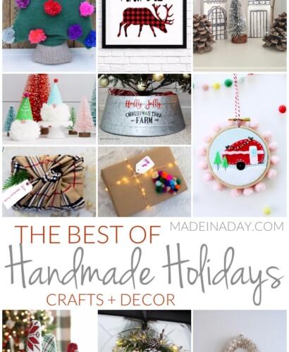 The Best Christmas Holiday Handmade Crafts + Decor 31
