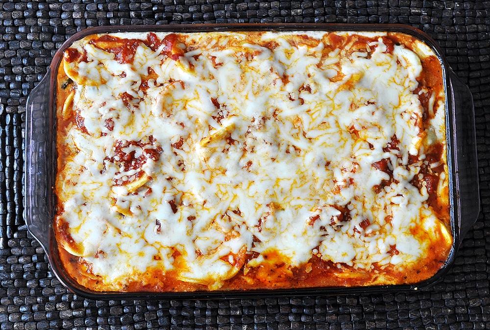 Oven Baked Ravioli Lasagna Recipe
