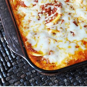 Cheesy Oven Baked Ravioli 6