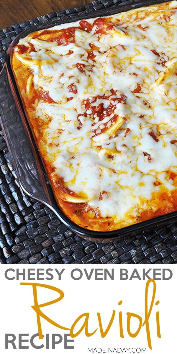 Cheesy Oven Baked Ravioli 9