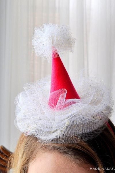 Mini Tulle Party Hat Headbands