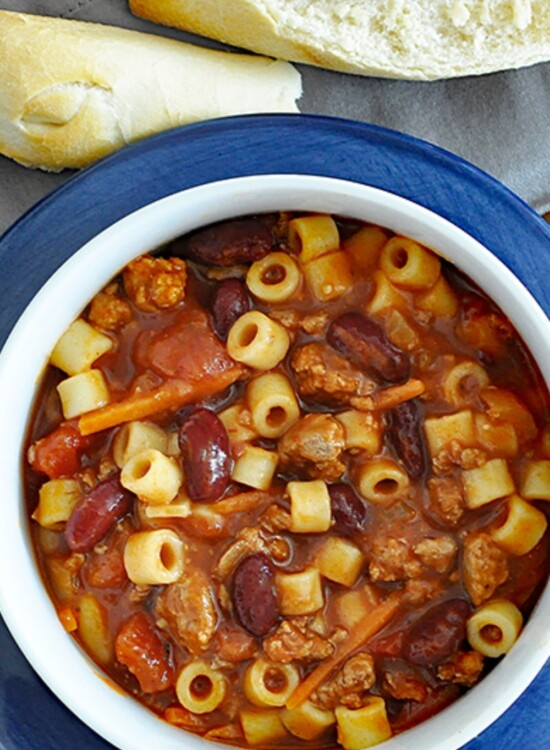 Hearty Pasta e Fagioli Italian Soup Recipe 6