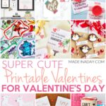 Simple Modern Valentines Day Card Printables 3