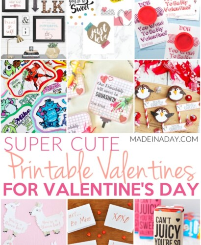 Super Cute Printable Valentines for Valentines Day 31