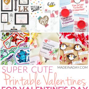 Super Cute Printable Valentines for Valentines Day 1