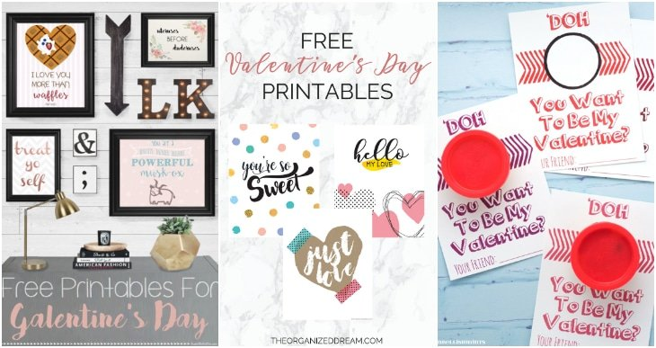 galentines day printables, printable play-doh valentines