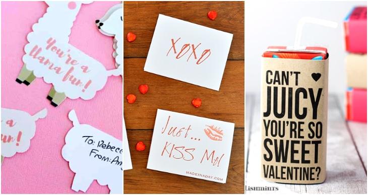juice box valentine, llama valentines