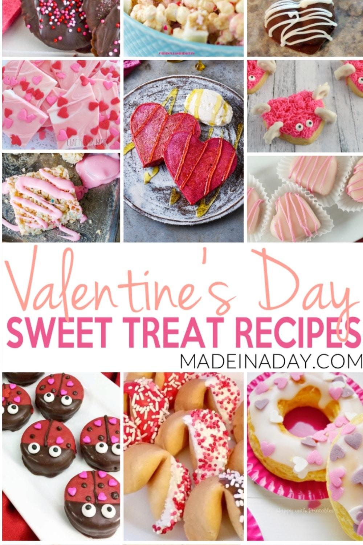 Valentines Day Homemade Treat Recipes