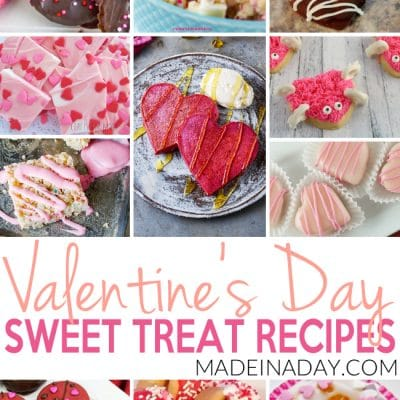 Valentine's Day Homemade Treat Recipes