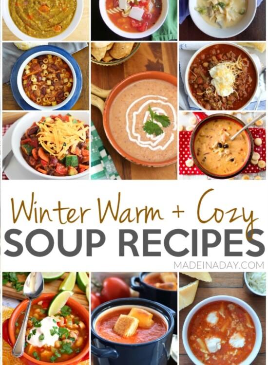 Winter Warm + Cozy Soup Recipes 5