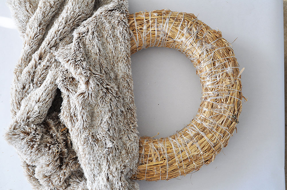 Rich Brown Faux Fur Wreath 31