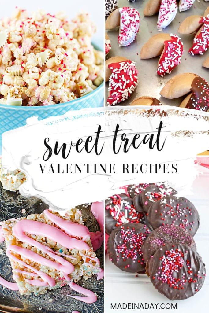 valentine mini desserts, valentine's treats diy ideas