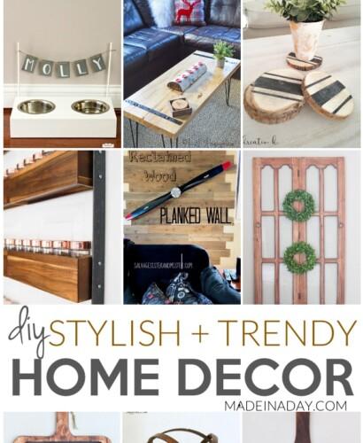 Stylish + Trendy DIY Home Decor Ideas 3