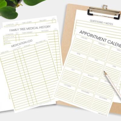 Be Prepared: Doctor Office Visit Medical Records Bundle