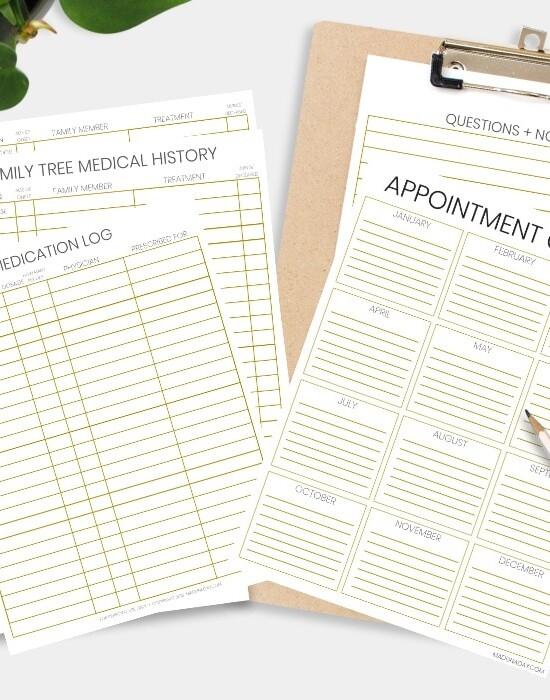 Be Prepared: Doctor Office Visit Medical Records Bundle 34
