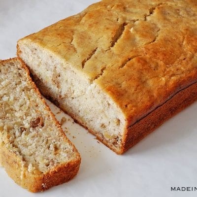Super Moist & Simple Banana Nut Bread Recipe