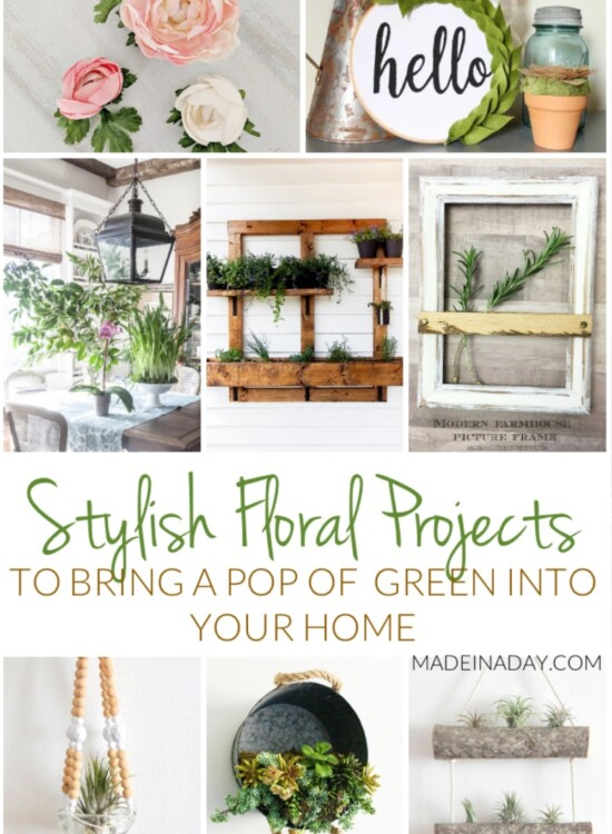 Stylish Floral Projects: Add A Pop of Green to your Home 38