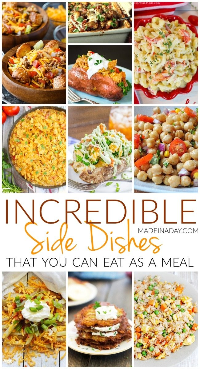 Incredible Side Dishes for a Meal, side dish meals, hearty side dishes