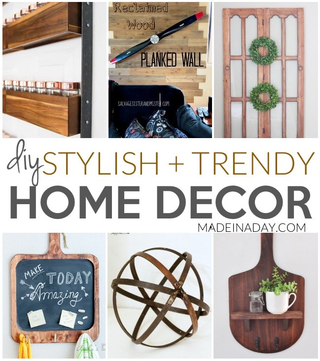 Stylish Trendy Diy Home Decor Ideas Made In A Day