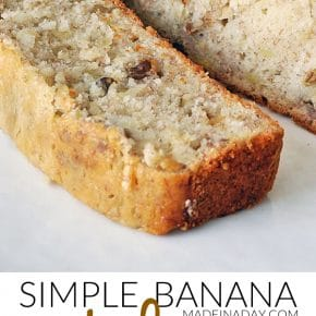 Super Moist & Simple Banana Nut Bread Recipe 31