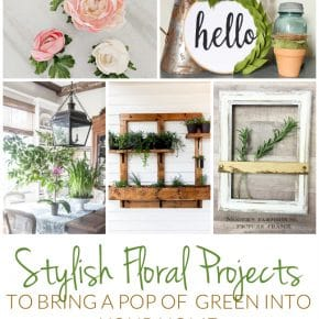 Stylish Floral Projects: Add A Pop of Green to your Home 1