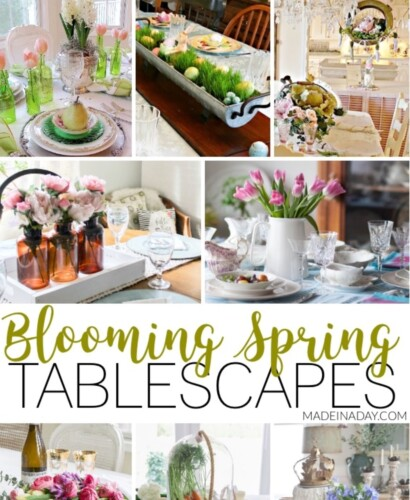 Fresh Spring Tablescapes for Special Holiday Gatherings 35