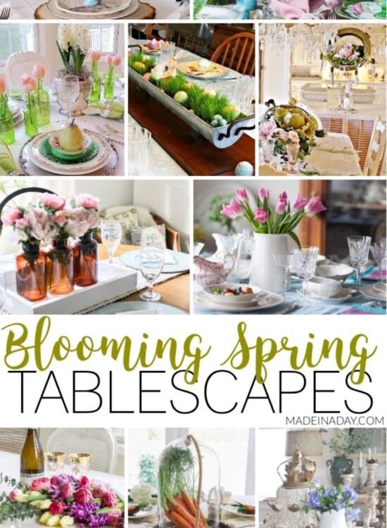 Fresh Spring Tablescapes for Special Holiday Gatherings 8