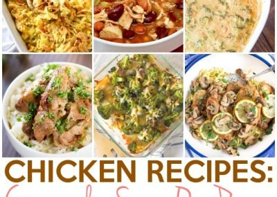 Chicken Recipes: Casseroles, Chili, One Pan, One Pot and More 19