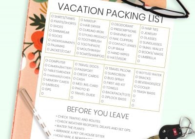 The Complete Vacation Travel Packing List + Tips 18