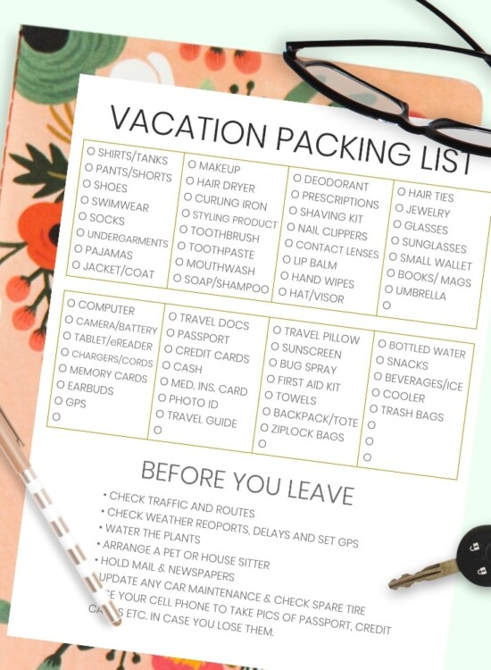The Complete Vacation Travel Packing List + Tips 8